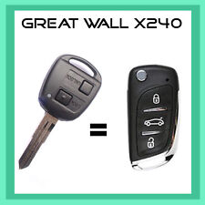 GREAT WALL X240 INTERGRATED KEY AND REMOTE SUIT 2010-2013