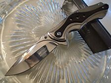 "Mtech Ballistic Assisted Chrome & Pakka Tactical Pocket Knife MT-A938CB 8 1/2"" O"