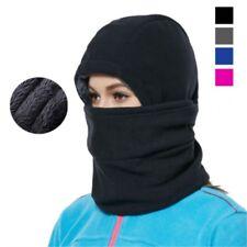 Full Face Mask Fleece Balaclava Ski Mask Neck Warm Winter Windproof Thermal Cap