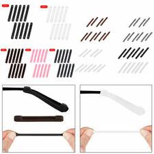 10 Silicone Eyeglasses Temple Tips Sleeve Retainer Anti-Slip Straps Holder Hooks