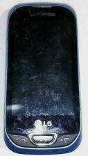 LG Extravert 2 VN280 - Blue (Verizon Prepaid) Cellular Phone works