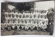 1924 Olympics  Finnish Olympic Team Real Photo Postcard