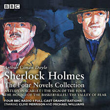 Sherlock Holmes: The Four Novels Collection by Sir Arthur Conan Doyle, Bert Coules (CD-Audio, 2017)
