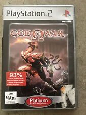 GOD OF WAR  - PS2 PLAYSTATION 2 GAME COMPLETE  - FREE POST