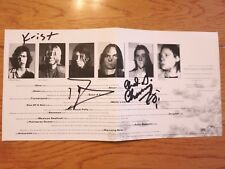 Nirvana signed Incesticide cd coa Proof Dave Grohl Krist Novoselic Chad Channing
