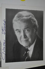 Jimmy Stewart Autografiada Foto Fotografía Celebridad Autógrafo Firma Itb WH