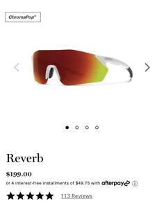 Smith Reverb Matte White/Chroma Pop/Red Mirror/Women's