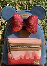 More details for disney minnie mouse the main attraction big thunder mountain backpack loungefly