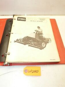 Wheel Horse Toro Turf 84 Owners & Service Manual
