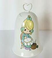 Precious Moments MOTHER SEW DEAR Porcelain Bell Enesco 1995 Vintage