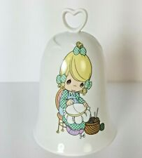 Precious Moments Mother Sew Dear Porcelain Bell Enesco 1995 Vintage
