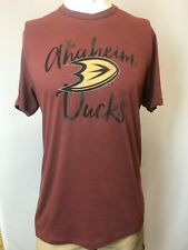 "New '47 Anaheim Ducks Men's Short Sleeve ""Ducks Hockey"" T-Shirt, Large"