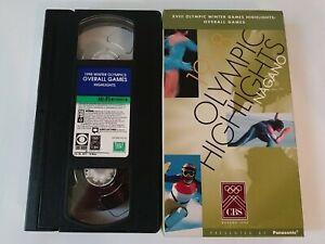 XVIII Olympic Winter Game Highlights Nagano CBS Video VHS Kwan Picabo Street