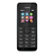 Nuevo Nokia 105-Negro (Desbloqueado) Teléfono Móvil libre de polvo Barato Básico Sim Libre