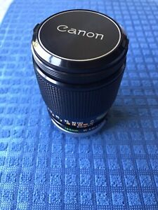 Canon FD 135mm F/2.5 S.C. Lens With Caps