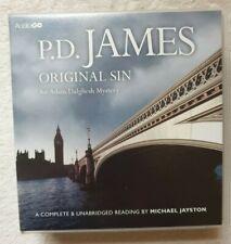 Original Sin : P.D James : An Adam Dalgleish Unabridged Audiobook On 14 CDs