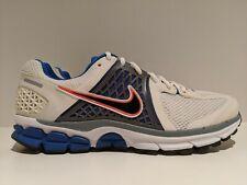 2012 Nike Zoom Vomero+ 6 White Blue Orange Stealth Grey Running Sz 10 443812 101