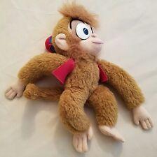 "Abu Monkey from Alladin Movie Disney Store Plush Toy Stuffed Animal 11"""