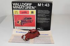 WALLDORF HANDBUILD KIT MERCEDES BENZ 170V 170 V 1939-1949 MAROON EXCELLENT BOXED