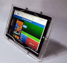 MS Surface 3 Clear Acrylic Anti-Theft Desktop Stand for Kiosk, POS, Store, Show