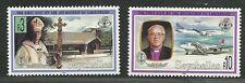 Seychelles 1993 VF MNH Stamps Scott # 753-754 CV 11.25 $ First visit in Seych...