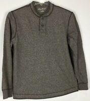 mens eddie bauer henley shirt Medium long sleeve Cotton