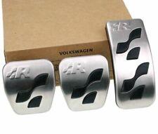 Genuine Volkswagen VW Golf 4 MK4 R32 Sport Aluminium Pedals Pads - Manual