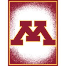 Brand New Official licensed Ncaa Minnesota Golden Gophers 48x60 Woven Blanket