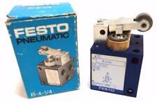 Festo Roller Lever Valve R-4-1/4 Lever Mechanical Valve 1,5...10 bar Serie 0881