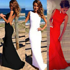 Sexy Women Dress Prom Ball Cocktail Party Dress Formal Evening Gown Long Dress