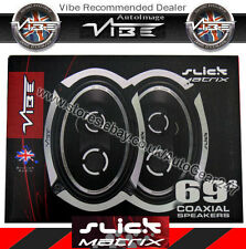 Vibe Slick693-v4 Matrix 6x9 3 Way 960w Slick 69.3-V4 Van Car Shelf Speakers PAIR