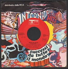 """7"""" JOHN ENTWISTLE'S RIGOR MORTIS MADE IN JAPAN / HOUND DOG WHO ITALY ONLY PROMO"""
