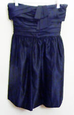 CLEARANCE! JUICY COUTURE STRAPLESS SATINE COCKTAIL DRESS SZ0 $348