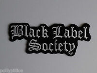 PUNK ROCK HEAVY METAL MUSIC SEW ON / IRON ON PATCH:- BLACK LABEL SOCIETY (a) BLS