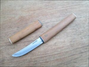 Vintage Japanese Sushi Chef's Carbon Steel Paring Knife marked JAPAN MARUEI