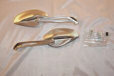 Ducati Performance billet rear-view mirrors  96880091A, 96880131A, -Pair, Sliver
