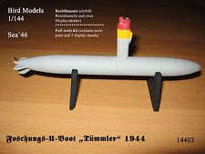 """De recherche sous-marin """"MARSOUIN"""" 1944 1/144 Bird Models Resinbausatz/resin kit"""