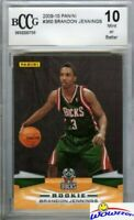 09/10 Panini #360 Brandon Jennings ROOKIE BECKETT 10 !