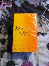 Beyonce Heat Rush 100ml eau de toilette Christmas Present Gift Perfume