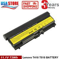 6/9Cell Battery for Lenovo Thinkpad T410 T420 T510 T520 SL510 W510 W520 E40 E50