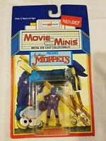 Rare Vintage Jim Henson Muppets 1988 Metal Diecast Movie Minis Gonzo Toy 80s