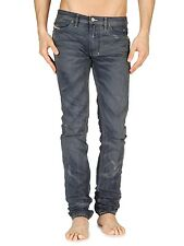 Diesel Shioner 0801A Men's Slim Fit Denim Jeans Size 27 x 32 Made in Italy 801A