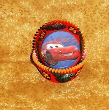 Cars 2, Pixar,Cupcake Papers,Wilton,50 ct.Paper, Red.Lightening McQueen