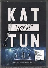 KAT-TUN: 10th Anniversary Live Tour 10ks! (2016) 2DVD SEALED