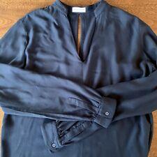 Scanlan Theodore Navy Longsleeve Tunic Top Size 8