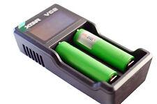 2 x Sony Konion US18650 VTC5 Akku Batterie inkl.Xtar VC2 Ladegerät