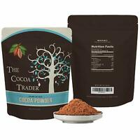 Dutch Processed Brown Cocoa Powder - All Natural Alkalized Unsweetened Cocoa