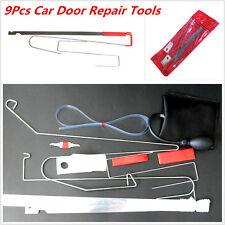 9Pcs Car Door Repair Tool Set Emergency Lock Out Unlock Door Open Tool Kit