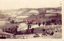1937 - RPPC - THE OAKLAND ROAD NEAR KEYSER RIDGE, MD. The Cove