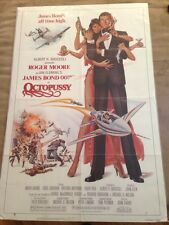 Octopussy original one sheet movie poster 1983 James Bond 007 Roger Moore